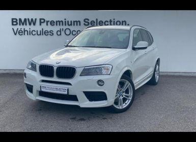 Vente BMW X3 xDrive20dA 184ch Sport Design Occasion