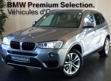 Vente BMW X3 xDrive20dA 190ch Business Occasion