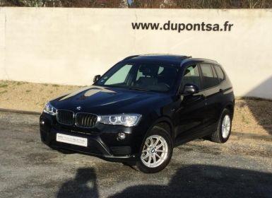 Voiture BMW X3 xDrive20dA 190ch Executive Occasion