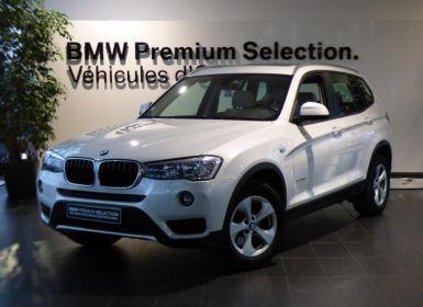 Vente BMW X3 xDrive20dA 190ch Executive Occasion