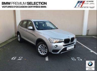 Vente BMW X3 xDrive20dA 190ch Lounge Plus Occasion