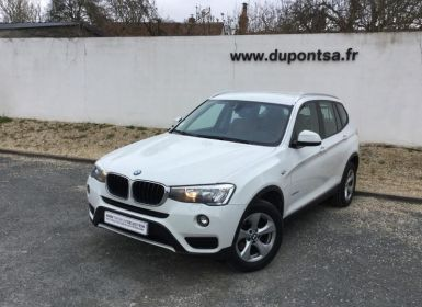 Voiture BMW X3 xDrive20dA 190ch Lounge Plus Occasion