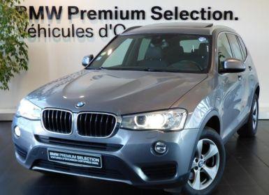 Vente BMW X3 xDrive20dA 190ch Lounge Plus Occasion