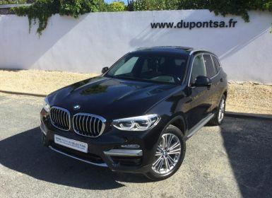 Vente BMW X3 xDrive20dA 190ch Luxury Occasion