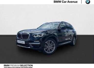 Achat BMW X3 xDrive20dA 190ch Luxury Occasion