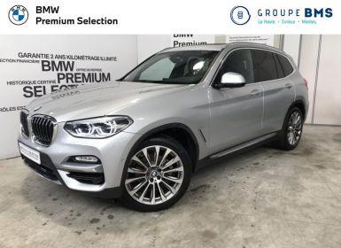 Vente BMW X3 xDrive20dA 190ch Luxury Euro6c Occasion