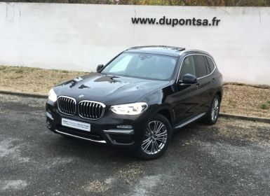 Voiture BMW X3 xDrive20dA 190ch Luxury Euro6d-T Occasion