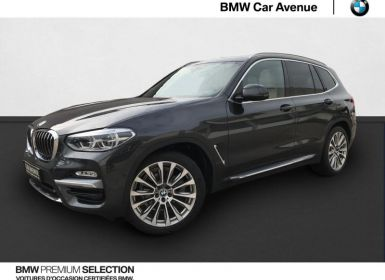 Achat BMW X3 xDrive20dA 190ch Luxury Euro6d-T Occasion