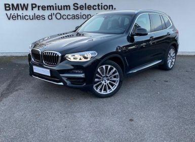 Vente BMW X3 xDrive20dA 190ch Luxury Euro6d-T Occasion