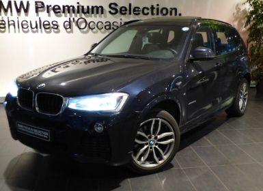 Vente BMW X3 xDrive20dA 190ch M Sport Occasion