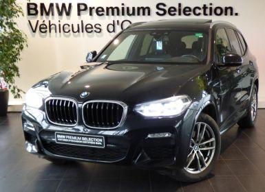 BMW X3 xDrive20dA 190ch M Sport Euro6c Occasion