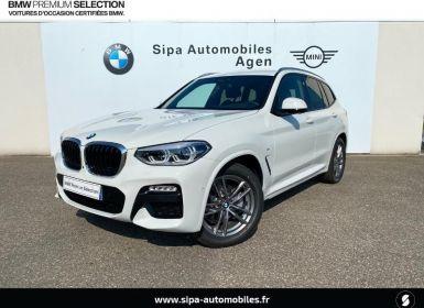 Vente BMW X3 xDrive20dA 190ch M Sport Euro6d-T Neuf