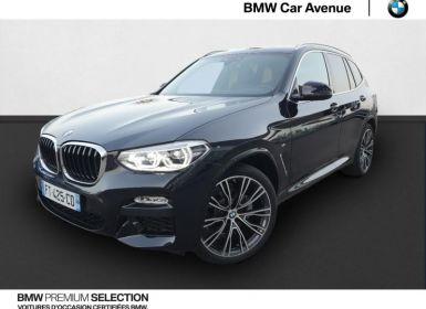 Achat BMW X3 xDrive20dA 190ch M Sport Euro6dT Neuf