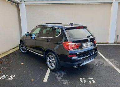 Achat BMW X3 xDrive20dA 190ch xLine Occasion