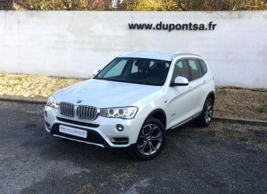 Acheter BMW X3 xDrive20dA 190ch xLine Occasion