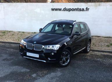 Voiture BMW X3 xDrive20dA 190ch xLine Occasion