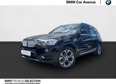 Vente BMW X3 xDrive20dA 190ch xLine Occasion
