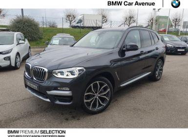 BMW X3 xDrive20dA 190ch xLine Occasion