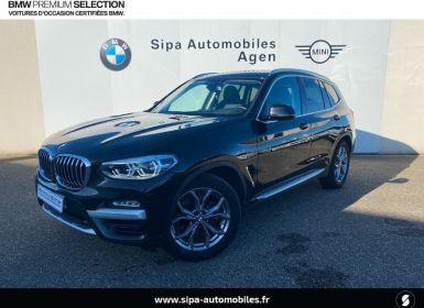 Vente BMW X3 xDrive20dA 190ch xLine Euro6d-T Occasion