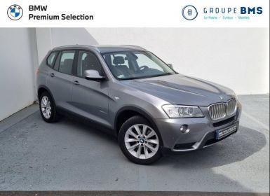 Vente BMW X3 xDrive30dA 258ch Luxe Occasion
