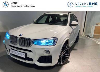 Vente BMW X3 xDrive30dA 258ch M Sport Occasion