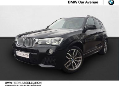 Achat BMW X3 xDrive30dA 258ch M Sport Occasion