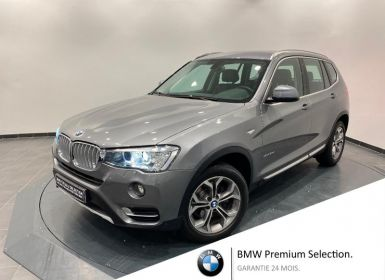 Achat BMW X3 xDrive30dA 258ch xLine Occasion