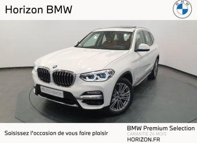 Achat BMW X3 xDrive30dA 265ch Luxury Occasion