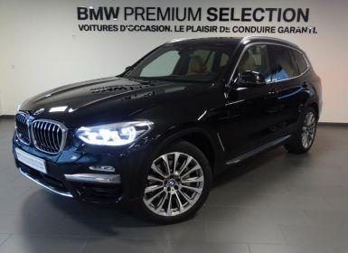 BMW X3 xDrive30dA 265ch Luxury Euro6c