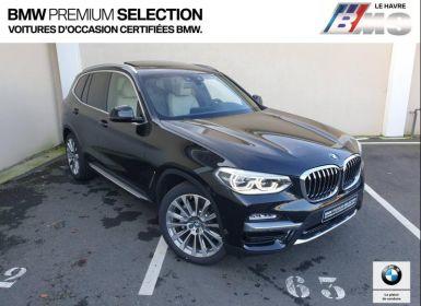 Voiture BMW X3 xDrive30dA 265ch Luxury Euro6d-T Neuf