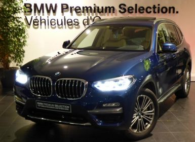Voiture BMW X3 xDrive30iA 252ch Luxury Euro6d-T Occasion
