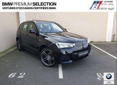 Voiture BMW X3 xDrive35dA 313ch M Sport Occasion