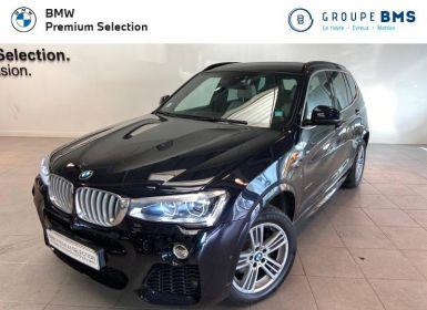 Vente BMW X3 xDrive35dA 313ch M Sport Occasion