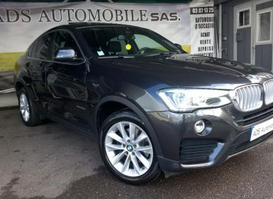 Vente BMW X4 F26 XDRIVE30D 258CH xLine A Occasion