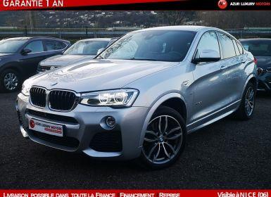 Vente BMW X4 I (F26) xDrive20dA 190ch M Sport Occasion