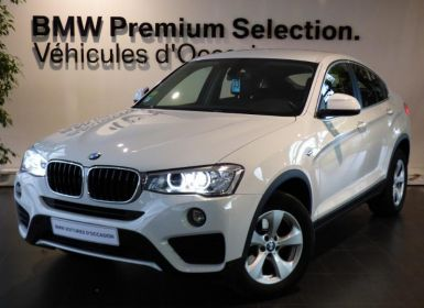 Voiture BMW X4 xDrive20dA 190ch Lounge Plus Occasion