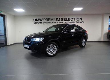 Voiture BMW X4 xDrive20dA 190ch Lounge Plus Occasion