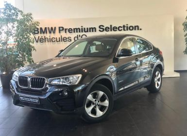Vente BMW X4 xDrive20dA 190ch Lounge Plus Occasion