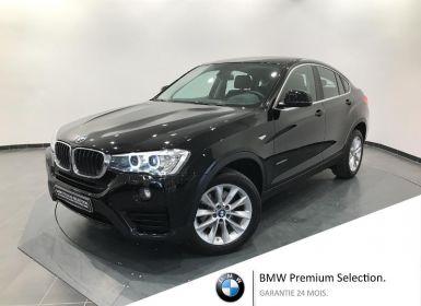 Vente BMW X4 xDrive20dA 190ch Lounge Plus Occasion