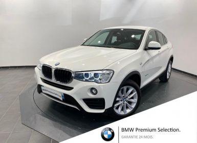 Achat BMW X4 xDrive20dA 190ch Lounge Plus Occasion