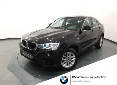 Achat BMW X4 xDrive20dA 190ch Lounge Plus Occasion