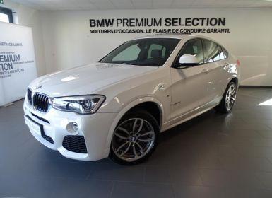 BMW X4 xDrive20dA 190ch M Sport