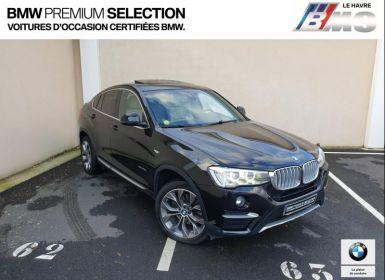 Acheter BMW X4 xDrive20dA 190ch xLine Occasion