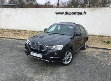 Vente BMW X4 xDrive20dA 190ch xLine Occasion