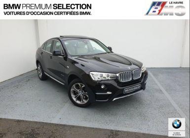 Achat BMW X4 xDrive30dA 258ch xLine Occasion