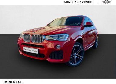 Vente BMW X4 xDrive35dA 313ch M Sport Occasion