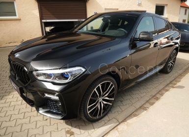 BMW X6 M50d, ACC, Caméra 360°, Pack extérieur Carbone, Toit Sky Lounge, Massage, Attelage