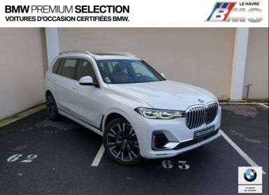 Voiture BMW X7 30dA xDrive 265ch Exclusive Occasion