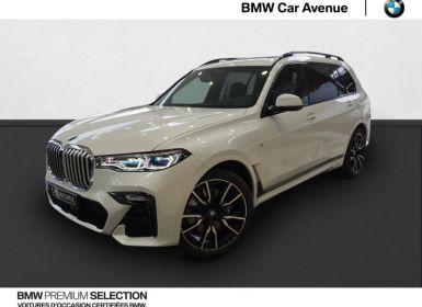 Vente BMW X7 30dA xDrive 265ch M Sport Occasion