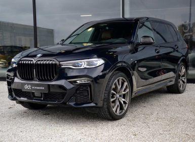 Vente BMW X7 M50d BlackOptic Leder Excl Entertainment Bower Wilkins Occasion